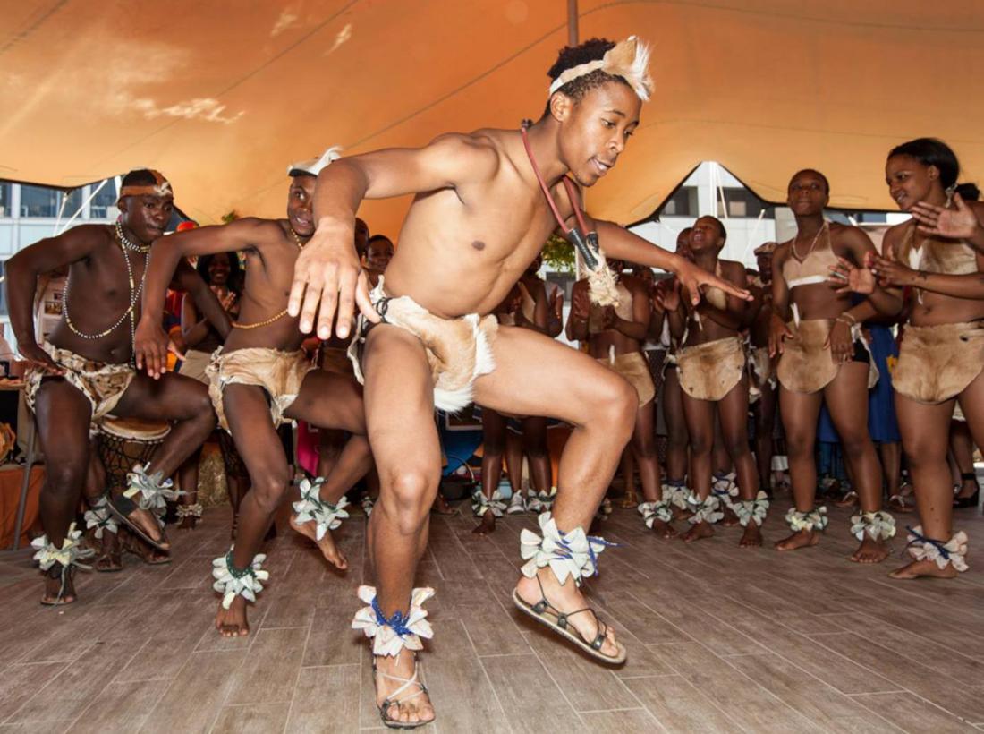 Tswana Dancers