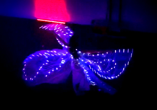 LED Wing Dance
