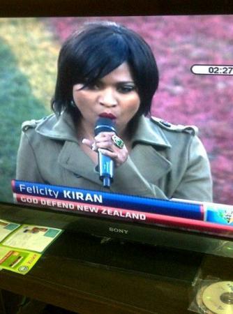 Felicity rocking the Nelson Mandela Bay Stadium!