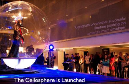 The Cellosphere is launched